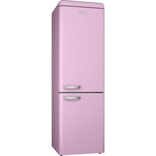 Swan Retro SR11020PN 70/30 Fridge Freezer - Pink - F Rated