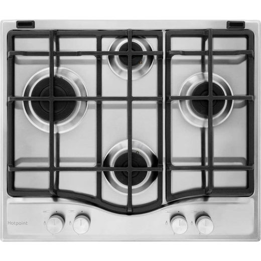 Hotpoint Ultima PCN641IXH 59cm Gas Hob - Stainless Steel