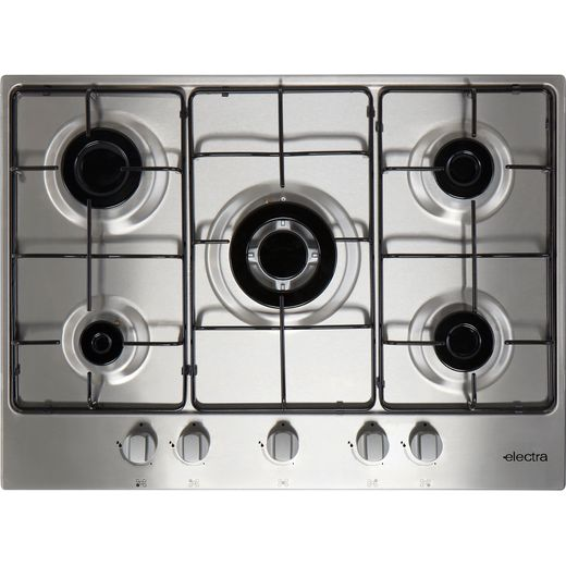 Electra BIGH5SS Built In Gas Hob - Stainless Steel
