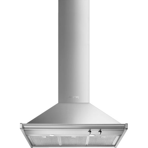 Smeg Opera KD90HXE 90 cm Chimney Cooker Hood - Stainless Steel - A+ Rated