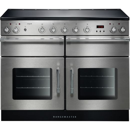 Rangemaster Esprit ESP110EISS/C 110cm Electric Range Cooker with Induction Hob - Stainless Steel - A/A Rated