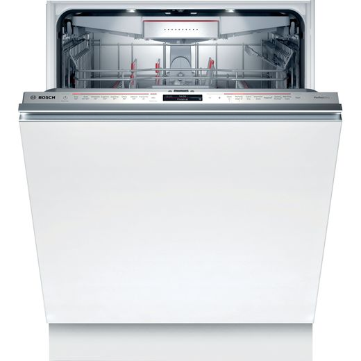 Bosch Serie 8 SMD8YCX01G Wifi Connected Fully Integrated Standard Dishwasher - Stainless Steel Control Panel - B Rated