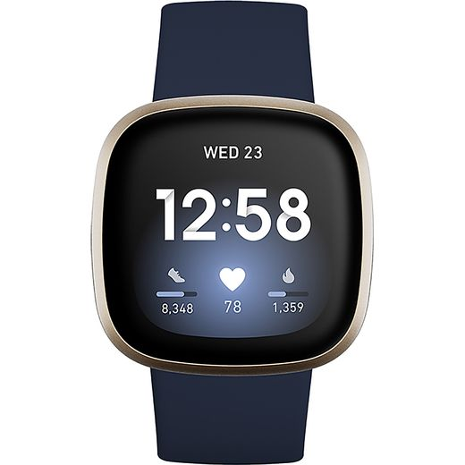 Fitbit Versa 3 Smart Watch - Blue