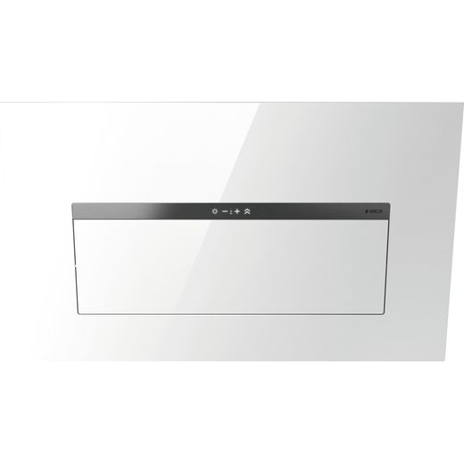 Elica BLOOM-LUX-WH 85 cm Chimney Cooker Hood - White Glass - A Rated