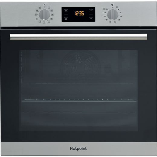 Hotpoint Class 2 SA2844HIX Built In Electric Single Oven - Stainless Steel
