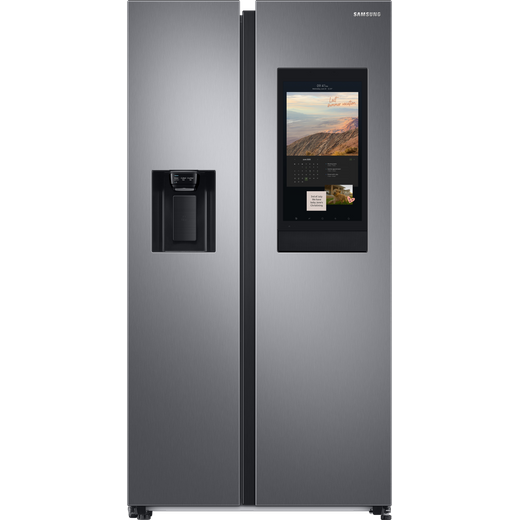 Samsung Family Hub™ RS6HA8880S9 Wifi Connected American Fridge Freezer - Brushed Steel - F Rated