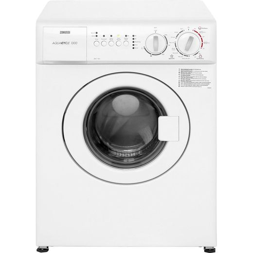 Zanussi ZWC1301 3Kg Washing Machine with 1300 rpm - White - F Rated
