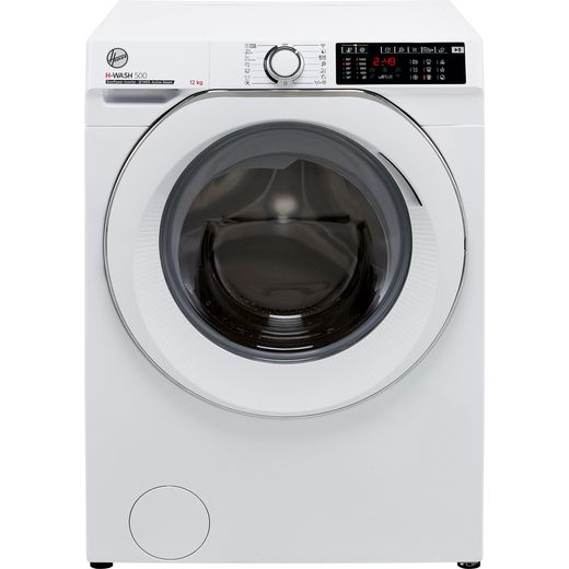 Hoover H-WASH 500 HW412AMC/1 Wifi Connected 12Kg Washing Machine with 1400 rpm - White - A Rated