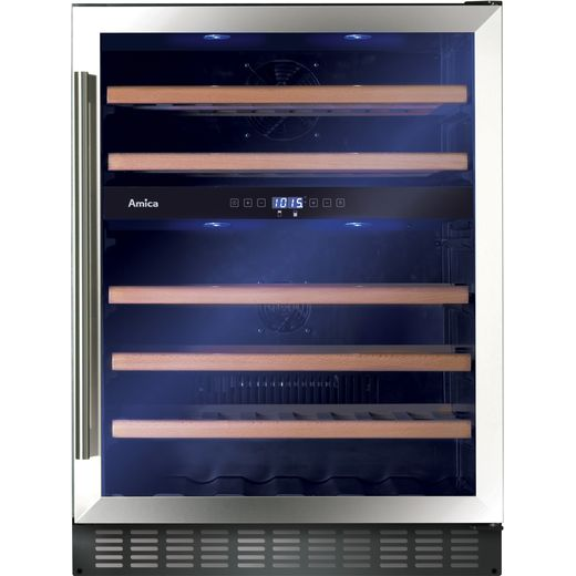 Amica AWC601SS Wine Cooler - Stainless Steel - G Rated