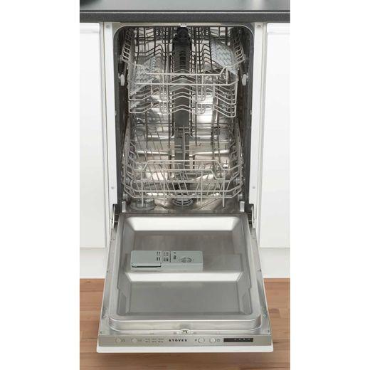 Stoves SDW45 Built In Slimline Dishwasher - Silver