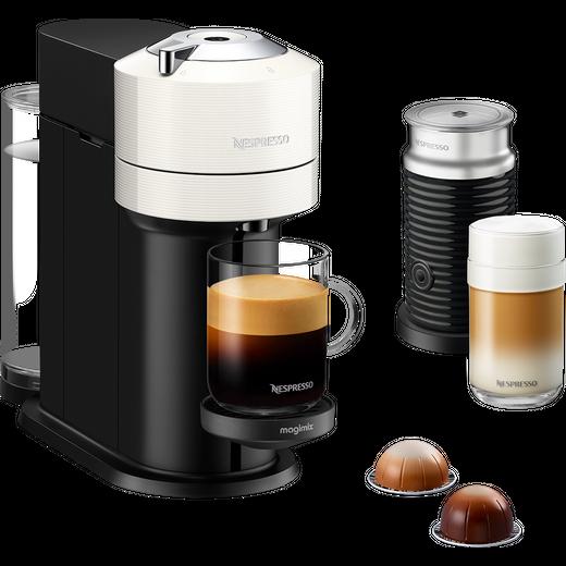 Nespresso by Magimix Vertuo Next & Milk 11710 - White