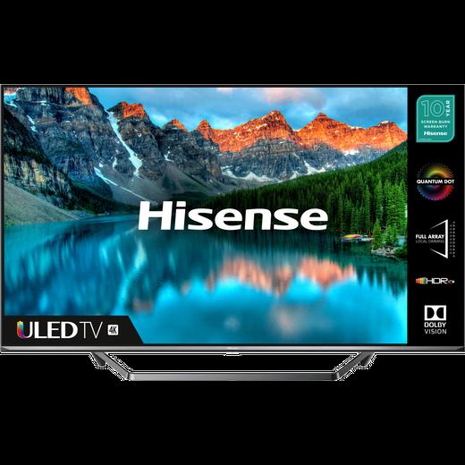 """Hisense QLED 65U7QFTUK 65"""" Smart 4K Ultra HD TV"""