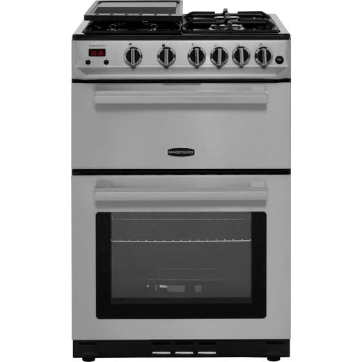 Rangemaster Professional Plus 60 PROP60NGFSS/C Gas Cooker - Stainless Steel / Chrome