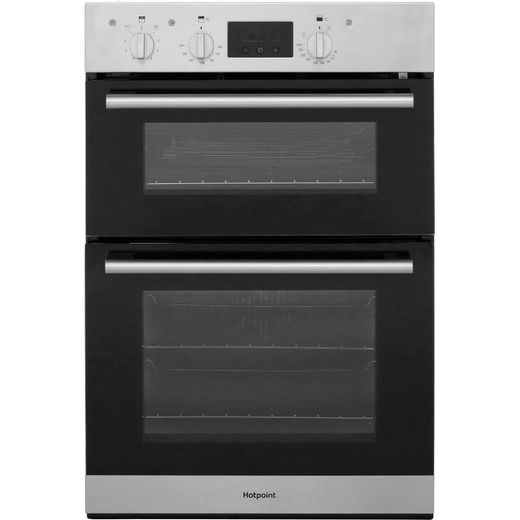 Hotpoint Class 2 DD2540IX Built In Electric Double Oven - Stainless Steel - A/A Rated