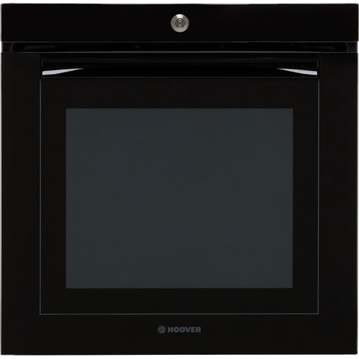 Hoover H-OVEN 700 EXTRA VISION Wifi Connected Built In Electric Single Oven - Black Glass - A Rated