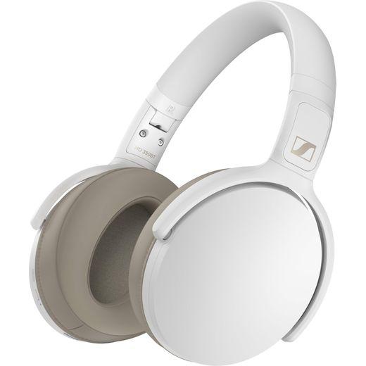 Sennheiser HD 350BT Over-Ear Wireless Bluetooth Headphones - White