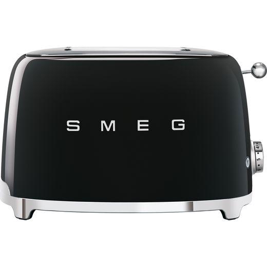 Smeg 50's Retro TSF01BLUK 2 Slice Toaster - Black