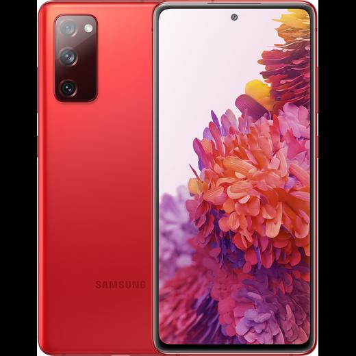 Samsung Galaxy S20 FE 128GB Smartphone in Cloud Red