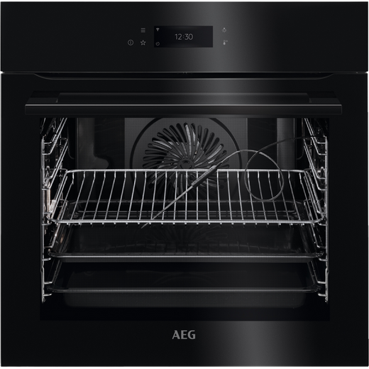 AEG BPK748380B Wifi Connected Built In Electric Single Oven - Black - A++ Rated