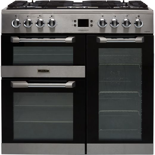 Leisure Cuisinemaster CS90F530X 90cm Dual Fuel Range Cooker - Stainless Steel - A/A/A Rated