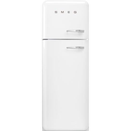 Smeg Left Hand Hinge FAB30LWH5UK 70/30 Fridge Freezer - White - D Rated