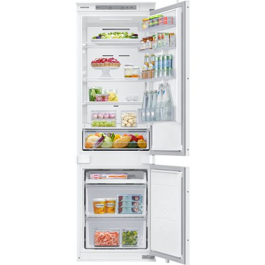 Samsung BRB26600FWW Integrated 70/30 Frost Free Fridge Freezer with Sliding Door Fixing Kit - White - F Rated