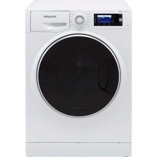 Hotpoint ActiveCare NLLCD1044WDAWUKN 10Kg Washing Machine with 1400 rpm - White - B Rated