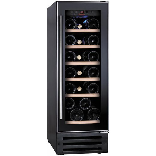Baumatic BWC305SS/2 Built In Wine Cooler - Black / Stainless Steel - G Rated