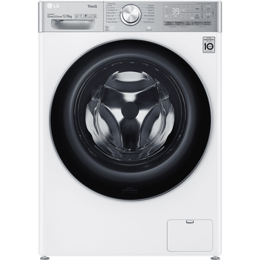 LG V11 FWV1128WTSA Wifi Connected 12Kg / 8Kg Washer Dryer with 1400 rpm - White - A Rated