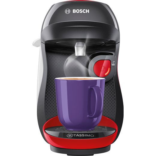 Tassimo by Bosch Happy TAS1003GB Pod Coffee Machine - Red / Black