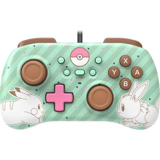 Hori Pikachu Edition Gaming Controller For Nintendo Switch - Green