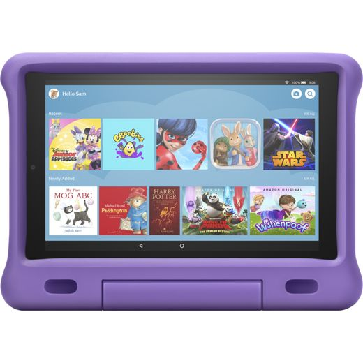 "Amazon Fire HD Kids Edition 10.1"" 32GB Wifi Tablet with Alexa [2019] - Purple"