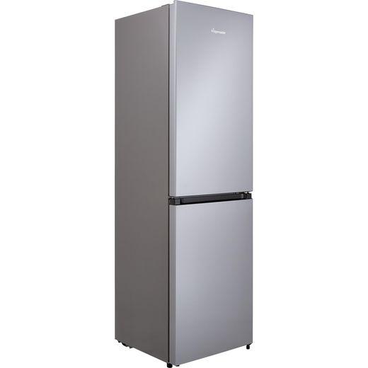 Fridgemaster MC55251MS 50/50 Frost Free Fridge Freezer - Silver - F Rated