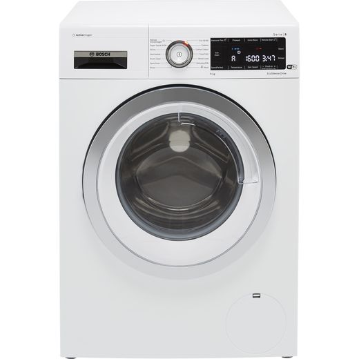 Bosch Serie 8 WAX32LH9GB Wifi Connected 9Kg Washing Machine with 1600 rpm - White - C Rated