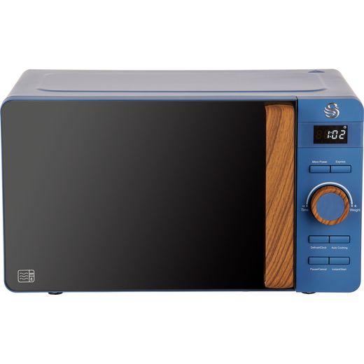 Swan Nordic SM22036BLUN Microwave - Blue
