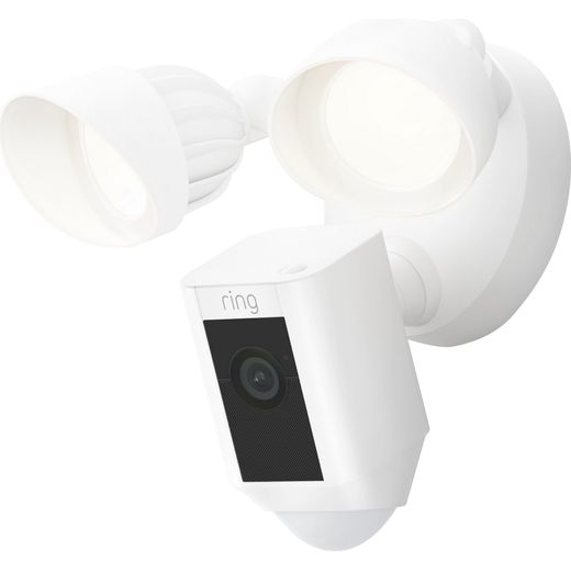 Ring Floodlight Cam Wired Plus Full HD 1080p - White