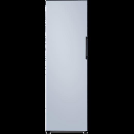 Samsung Bespoke RZ32A74A548 Frost Free Upright Freezer - Satin Sky Blue - F Rated