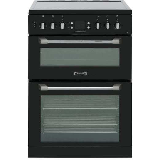 Leisure Cuisinemaster CS60CRK 60cm Electric Cooker with Ceramic Hob - Black - A/A Rated