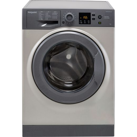 Hotpoint NSWM943CGGUK 9Kg Washing Machine with 1400 rpm - Graphite - A+++ Rated