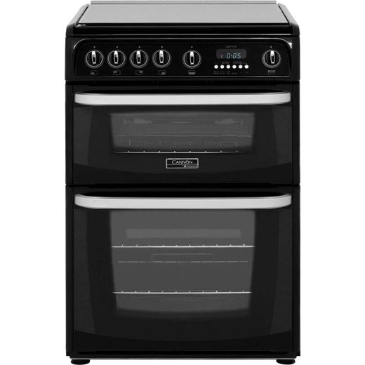 Cannon by Hotpoint CH60GCIK 60cm Gas Cooker with Variable Gas Grill - Black - A+/A Rated