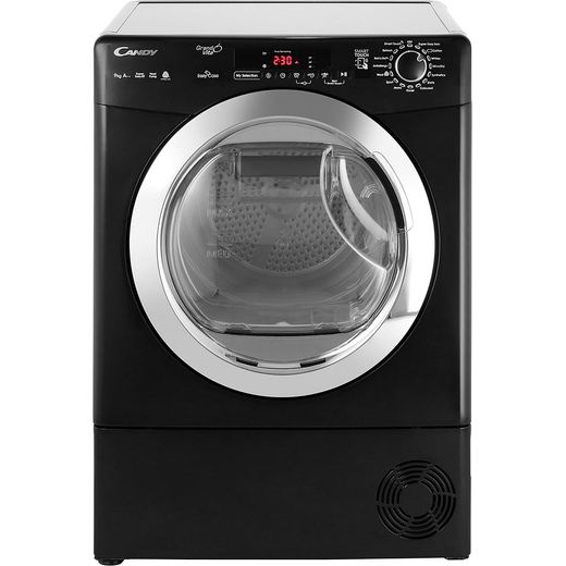 Candy Grand'O Vita GVSH9A2DCEB 9Kg Heat Pump Tumble Dryer - Black - A++ Rated
