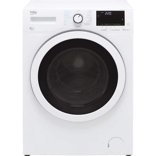 Beko SteamCure RecycledTub™ WDER8540421W 8Kg / 5Kg Washer Dryer with 1400 rpm - White - D Rated