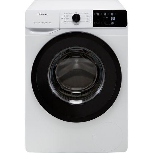 Hisense WFGE10141VM 10Kg Washing Machine with 1400 rpm - White - B Rated