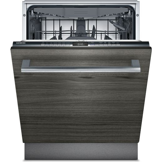 Siemens IQ-300 SE73HX42VG Fully Integrated Standard Dishwasher - Black / Stainless Steel Control Panel - E Rated