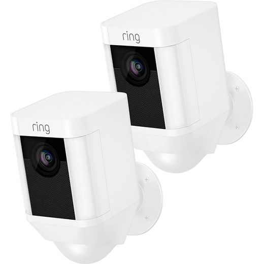 Ring Spotlight Cam Wired (Twin Pack) Full HD 1080p - White