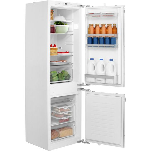 Bosch Serie 4 KIN86VF30G Integrated 60/40 Frost Free Fridge Freezer with Fixed Door Fixing Kit - White - A++ Rated