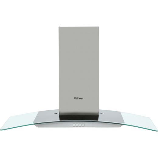 Hotpoint PHGC9.4FLMX 90 cm Chimney Cooker Hood - Stainless Steel - D Rated