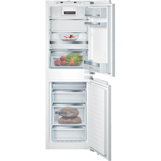 Bosch Serie 6 KIN85AFE0G Built In Fridge Freezer - White
