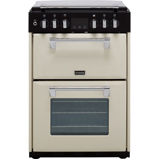 Stoves Richmond600DF 60cm Dual Fuel Cooker - Cream - A/A Rated