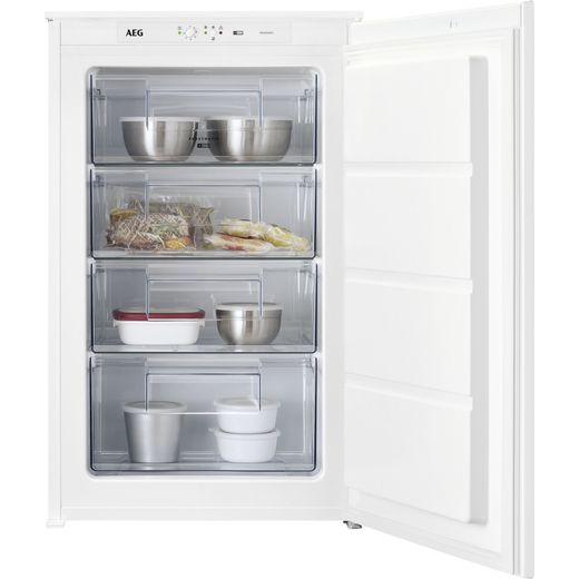 AEG ABE688E1LS Integrated Upright Freezer with Sliding Door Fixing Kit - E Rated